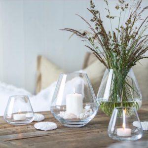 Rocks designet av Hallvor Bakke for Magnor Glassverk